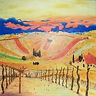 Southern Styria, Painting 1 by Barbie Hardrock