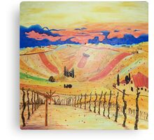 Southern Styria, Painting 1 Canvas Print
