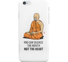 Silenced.... iPhone Case/Skin