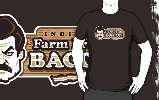 Farm Fresh Bacon by WinterArtwork