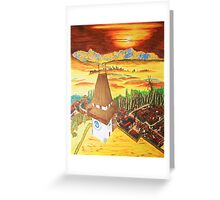 Southern Styria, Painting 2 Greeting Card