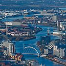 River Clyde - Glasgow by Vic Sharp