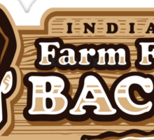 Farm Fresh Bacon - STICKER Sticker