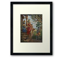 Krishna as shaiva sanyasi Framed Print