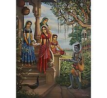 Krishna as shaiva sanyasi Photographic Print