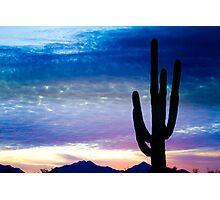 Colorful Southwest Desert Sunrise  Photographic Print