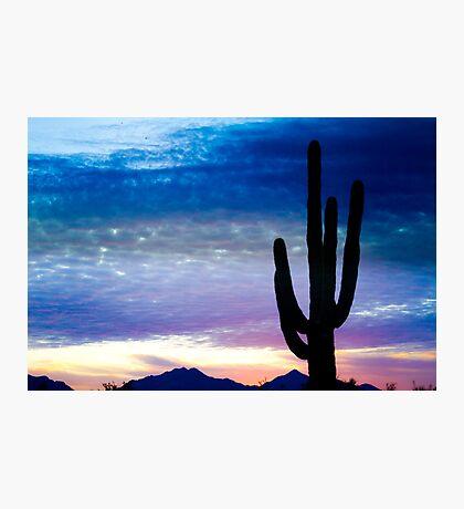 Colorful Southwest Desert Sunrise  Photographic Print