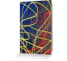Abstract background Greeting Card