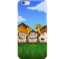 Singing Cows iPhone Case/Skin