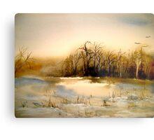 Beyond Silence....Winter Landscape.. Metal Print