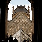 Welcome to the Louvre by Davide Ferrari