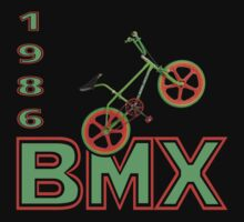 Retro 1986 BMX Bike Men's T-shirt  Kids Tee
