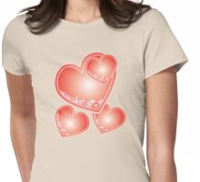 Hearts of Rain Womens Fitted T-Shirt