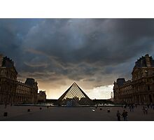 Approaching Storm Photographic Print