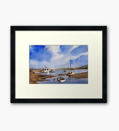 Calm Seas Framed Print