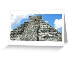 Chichen Itza Greeting Card
