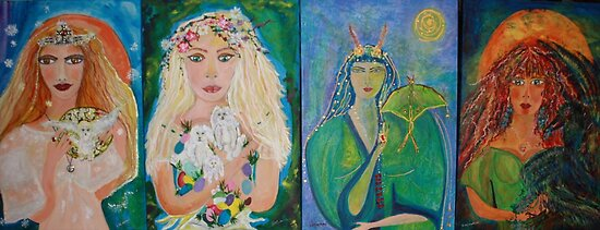 GODDESSES OF THE SEASONS 2011 by eoconnor