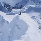Climbing on Baruntse by Marion Joncheres