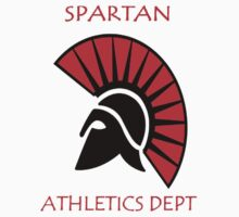 Spartan Athletic Top  by Dan Merry