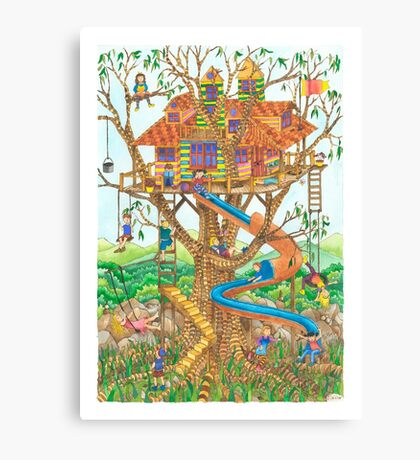 Lofty Playground Canvas Print
