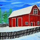 Red Barn  by maggie326