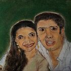 Kim & Pankaj by Narayan Pillai