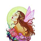 Floral Fairy iPhone Case by Sandra Gale