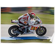 Marco Simoncelli in Assen 2011 Poster