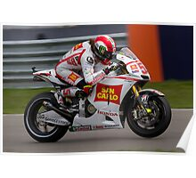 Marco Simoncelli in Assen Poster