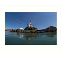 The Skerries, Anglesey Art Print
