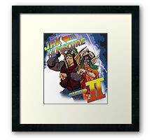 Jak to the Future Framed Print