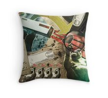 """ALL EYES ON YOU"" Throw Pillow"