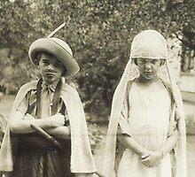 As The Swash Buckles ~ Richard & Gladys c. 1922 by artwhiz47