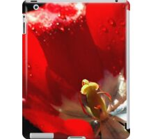 Red Tulip iPad Case/Skin