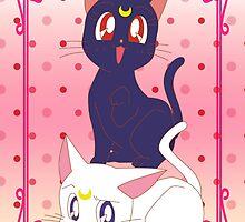 Luna e Artemis  by Rickykun