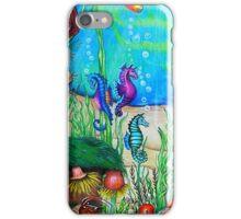 Fantasy SeaHorses iPhone Case iPhone Case/Skin