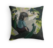 Truancy with Friends Throw Pillow