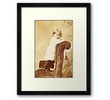 Mabel Grumps ~ Binghamton, NY c. 1880 Framed Print