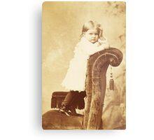 Mabel Grumps ~ Binghamton, NY c. 1880 Metal Print