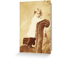 Mabel Grumps ~ Binghamton, NY c. 1880 Greeting Card