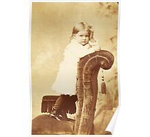 Mabel Grumps ~ Binghamton, NY c. 1880 Poster