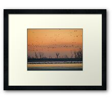 Early Winter Sunrise Framed Print