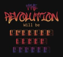 The revolution will be tweeted liked & shared (Version 1 ) by 321Outright