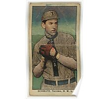 Benjamin K Edwards Collection Schmutz Tacoma Team baseball card portrait Poster