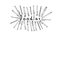 The Doodler Photographic Print