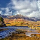 Ballynahinch lake at Ballinafad Connemara Galway Ireland. by MickBourke
