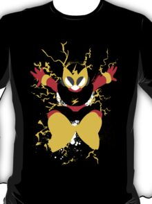 Elec Man Splattery Design T-Shirt