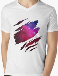 Made of Star Stuff Mens V-Neck T-Shirt