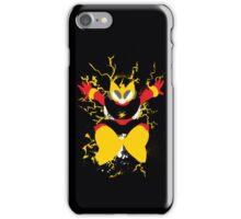 Elec Man Splattery Design iPhone Case/Skin