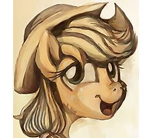 A Silly Pony Photographic Print